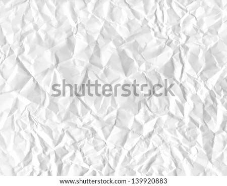 wrinkled paper. vector eps 8 - stock vector