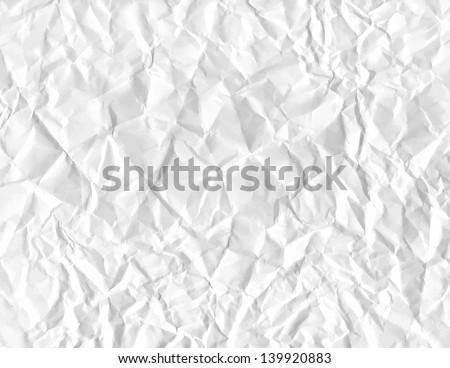 wrinkled paper. vector eps 8 - stock vector