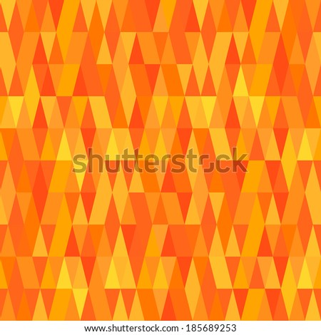 Yellow Abstract Background - stock vector