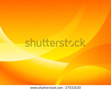 Yellow backgound, vector illustration, EPS file included - stock vector