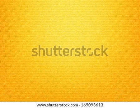 Yellow textile background - stock vector