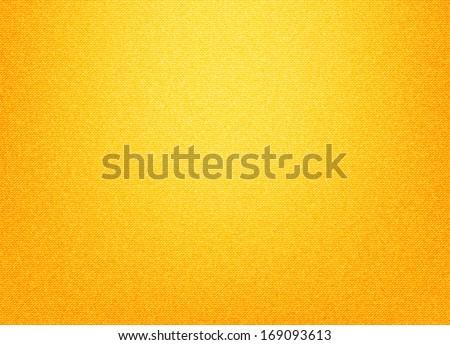 Yellow textile background - stock vector