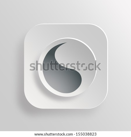 Yin yang symbol of harmony and balance  - stock vector