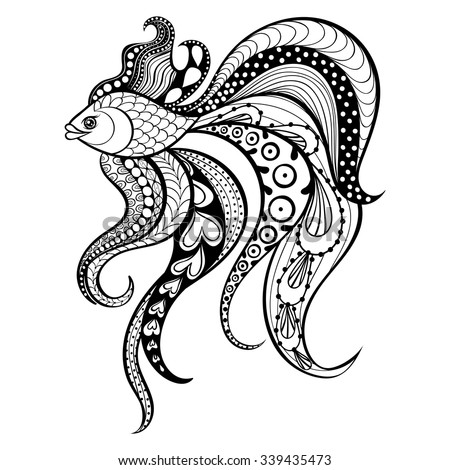 tribal animal coloring pages - photo#6