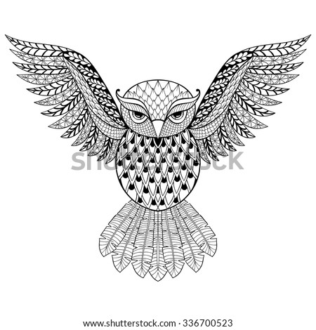 tribal animal coloring pages - photo#32