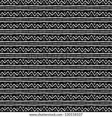 Zig zag vector pattern - stock vector