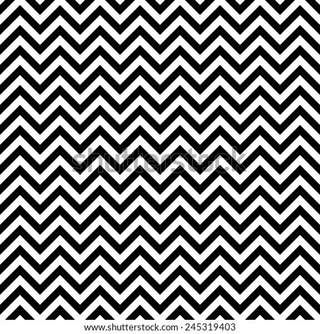 Zigzag pattern, seamless vector. - stock vector