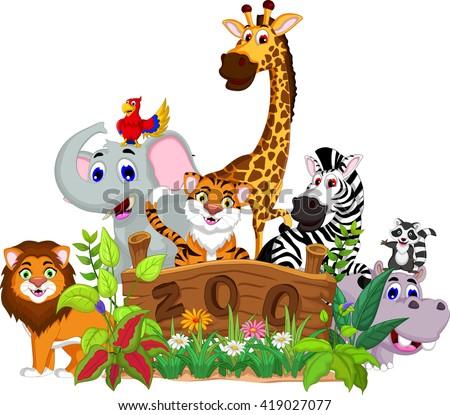 zoo stock vectors amp vector clip art shutterstock